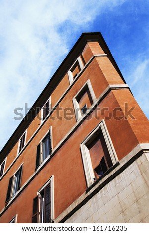 Low angle view of a building, Rome, Lazio, Italy