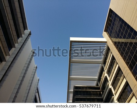 Low angle view of building in Cyberjaya