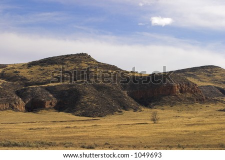 Low hills near Owl Canyon