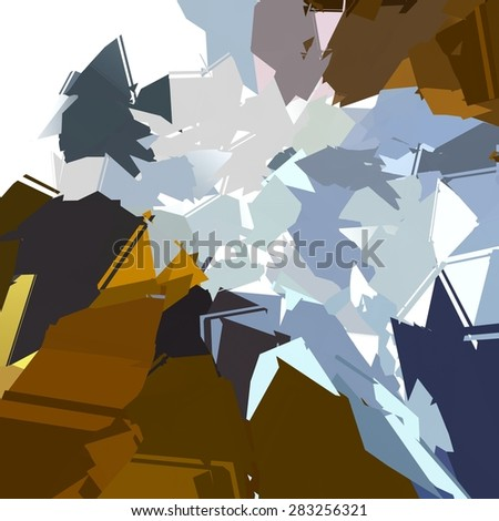 Low polygon Abstract colorful Pattern Background