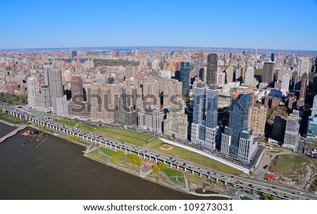 Lower West Side, New York - stock photo