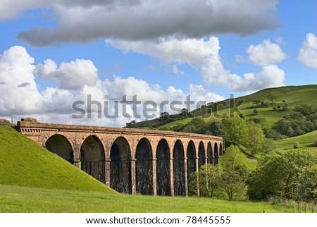 lowgill viaduct - stock photo