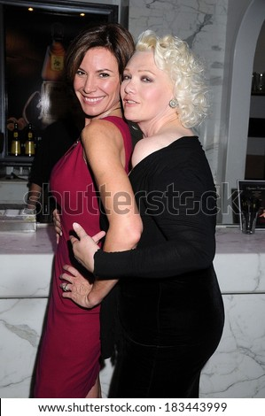 Luann de Lesseps at People Reaching Out Charity Fundraiser to Prevent Youth Substance Abuse and Violence, Hudson Terrace, New York, NY, October 21, 2008  - stock photo
