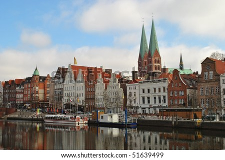 Lubeck germany stock photo for Mobel lubeck