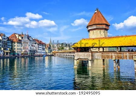 Lucerne, Switzerland - stock photo