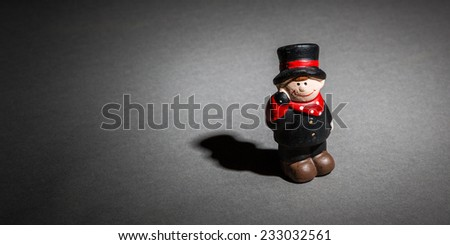 lucky charm against depression - stock photo