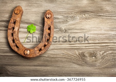 Lucky charms. - stock photo