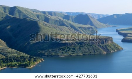 Lucky Peak Reservoir, Boise, Idaho