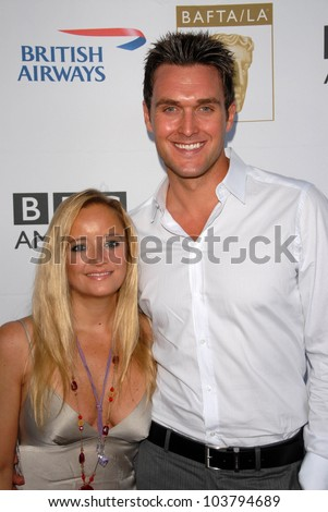 Lucy Davis and Owain Yeoman at the 7th Annual BAFTA-LA TV Tea Party. Intercontinental Hotel, Century City, CA. 09-19-09