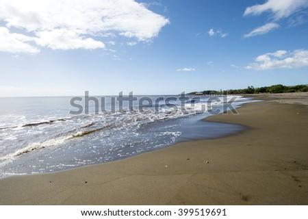 Lucy Wright Beach, Kauai, Hawaii - stock photo