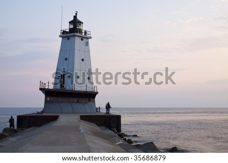 Ludington Pier Lighthouse
