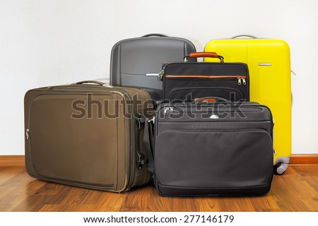 luggage bags - stock photo