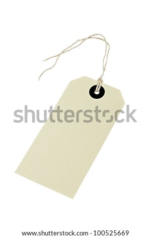 Luggage/parcel tags.