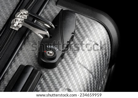Luggage with TSA (Transportation Security Administration) Accepted Combination Lock