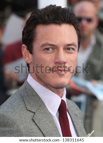 Luke Evans arriving for the 'Fast And Furious 6' Premiere, at Empire Leicester Square, London. 07/05/2013 - stock photo