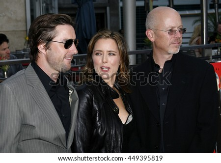 Luke Wilson, Tea Leoni and John Dahl at the Los Angeles premiere of 'You Kill Me' held at the Universal Citywalk in Hollywood, USA on June 10, 2007.
