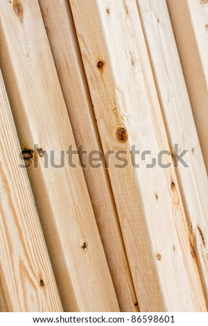 Lumber - stock photo