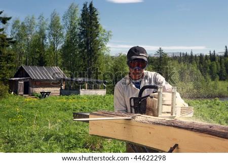 lumberjack - stock photo