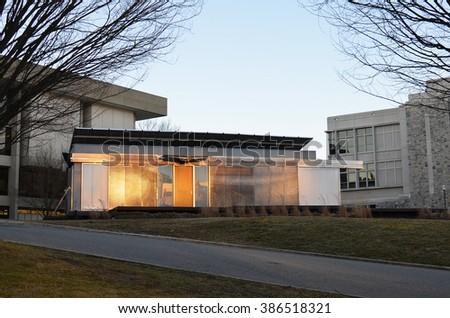 Smart Haus lumenhaus green energy efficient smart house stock photo royalty