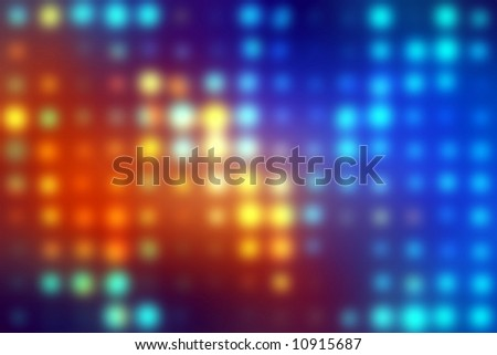 luminous abstract background - stock photo