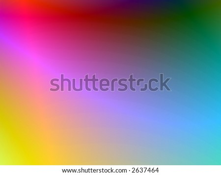 luminous abstract page design illustration - stock photo