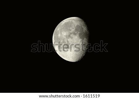 Luna - stock photo