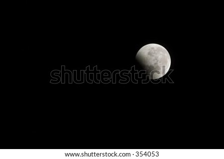 Lunar Eclipse - soft focus