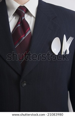 Lunch break - stock photo