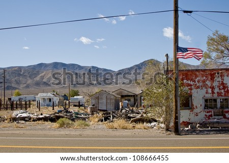 Luning, Nevada - stock photo