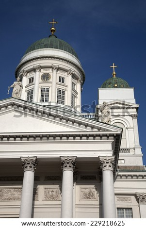 Lutheran Cathedral Church; Helsinki; Finland