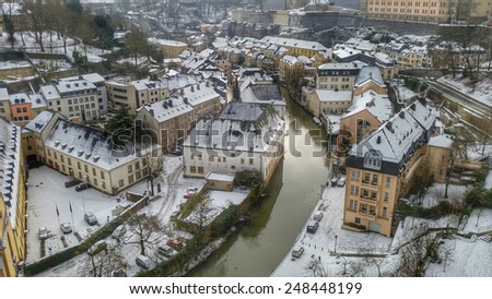 Luxembourg, Europe - stock photo