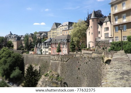 Luxembourg, Europe - stock photo