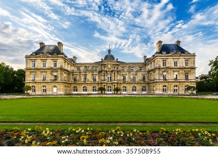 Luxembourg Palace was originally built (1615-1645) to be the royal residence of the regent Marie de Medicis. Since 1958 it has been the seat of the French Senate of the Fifth Republic.