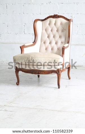 Luxurious armchair - stock photo