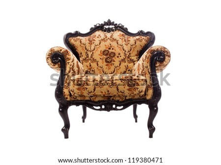 Luxurious armchair - stock photo