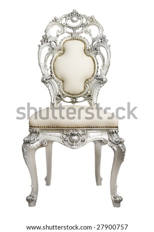 Luxurious Chair - stock photo