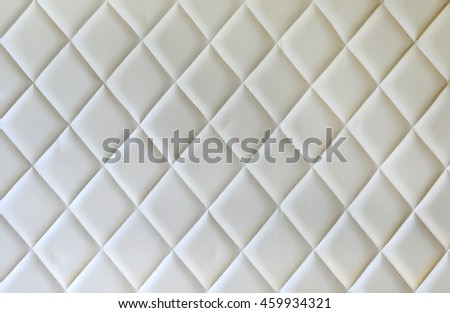 Luxurious cream leather texture furniture