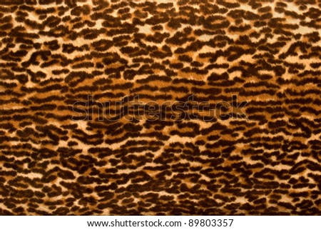 Luxurious fake 1950's fur material background - stock photo