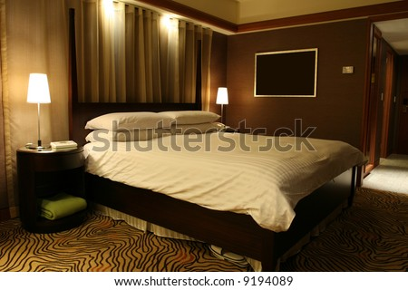 Luxurious Hotel Suite - stock photo