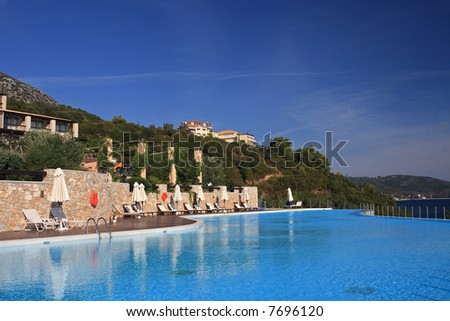 Luxurious Hotel - Swimming pool