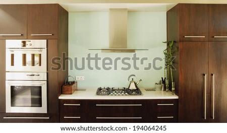 Luxurious kitchen  - stock photo