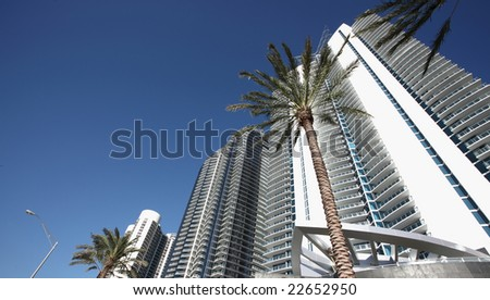 Luxurious Miami Condominium - stock photo
