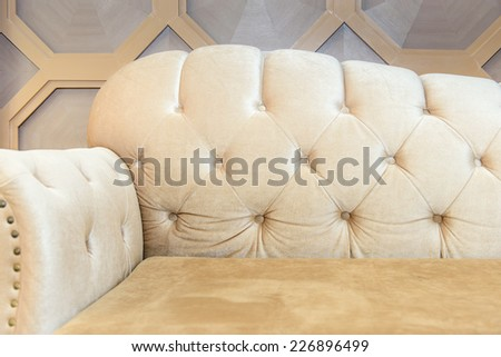Luxurious sofa - stock photo