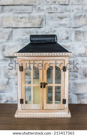 Luxury antique cabinet - stock photo