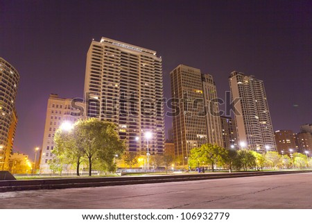 Luxury Apartments - stock photo