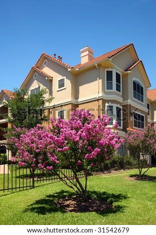 Luxury apartments (condo) - stock photo