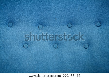 Luxury Blue Fabric Texture Background - stock photo