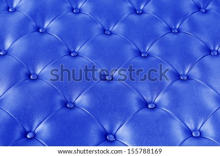 Luxury blue leather. - stock photo
