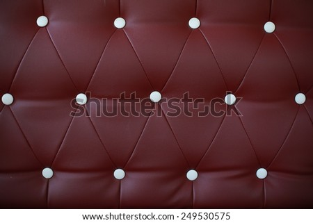 Luxury Brown leather - stock photo