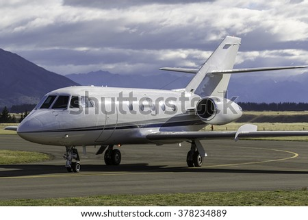 Luxury Business Jet Aircraft